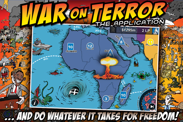 War on Terror app - screenshot